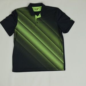 Fila Sport Golf Regular XL Green/Gray   Polo Polye
